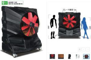 日本人が扱いやすい大型冷風機のサイズ感